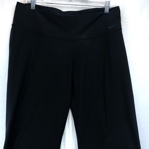 Nike dry fit cropped wide leg